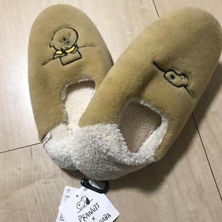 UNIQLO - ユニクロ ピーナッツ スヌーピー × 長場雄 ルームシューズ L