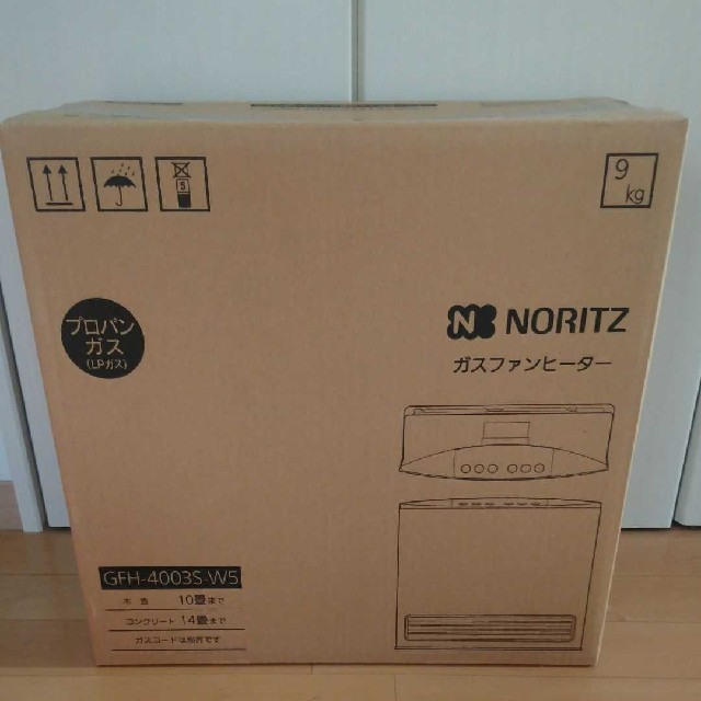 NORITZ(ノーリツ)のノーリツ ガスファンヒーター最終値下げ スマホ/家電/カメラの冷暖房/空調(ファンヒーター)の商品写真