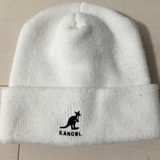 KANGOL - KANGOL ニット帽  ホワイト