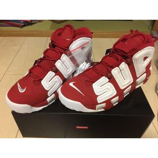 ナイキ(NIKE)のSupreme x Nike Air More Uptempo 28.5cm(スニーカー)