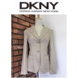 DKNY - 新品未使用☆定価¥4万‐品☆DKNY/ダナキャラン☆ジャケット☆4☆ベージュ系