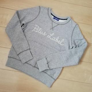 バーバリーブルーレーベル(BURBERRY BLUE LABEL)のBURBERRY BLUE LABEL トレーナー 38(トレーナー/スウェット)