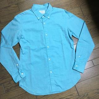 エディフィス(EDIFICE)の美品 EDIFICE シャツ ライトブルー 日本製 エディフィス(シャツ)