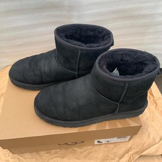 アグ(UGG)のUGG M CLASSIC MINI 美品(ブーツ)