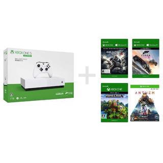 マイクロソフト(Microsoft)のXbox One S 1 TB All Digital Edition (家庭用ゲーム機本体)