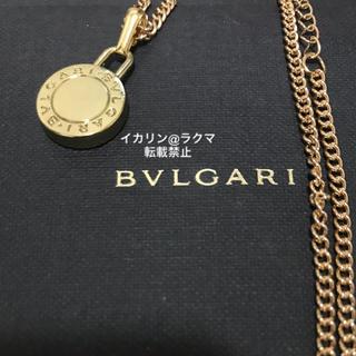 BVLGARI - 【確実正規】BVLGARI ネックレス チャーム チェーン付き 新品