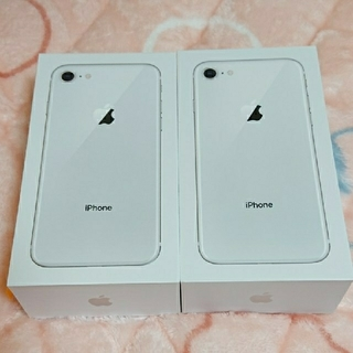 iPhone - iPhone8 64GB【Silver】※新品未使用品&SIMロック解除済み 二