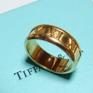 Tiffany & Co. - 【ティファニー】アトラス K18YG 9.0g 15号 ワイドリング