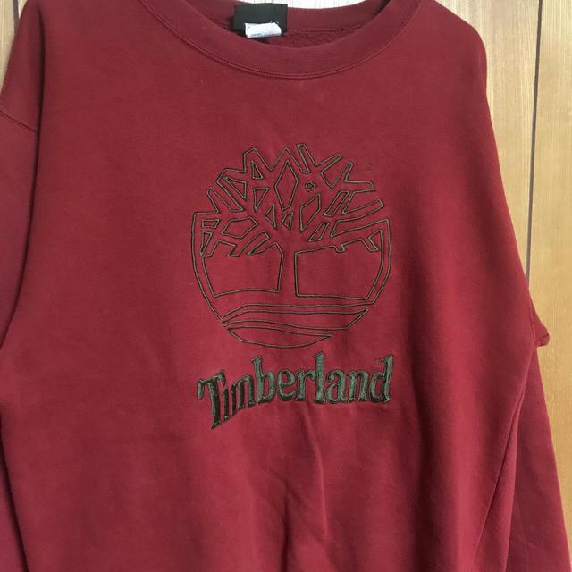 Timberland(ティンバーランド)の90's Timberland ティンバーランドトレーナー メンズのトップス(スウェット)の商品写真