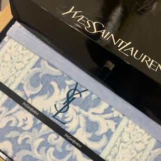 サンローラン(Saint Laurent)の新品未使用☆イブサンローラン/シルク混綿毛布(毛布)
