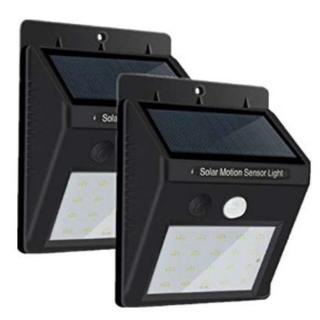 ★即日発送★ 2個組 人感 センサーライト 太陽光 設置カンタン 防水