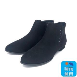 ヴェリココ(velikoko)のすっきりフラットブーツ 2.0cmヒール ヴェリココ ラクチンきれいブーツ(ブーツ)