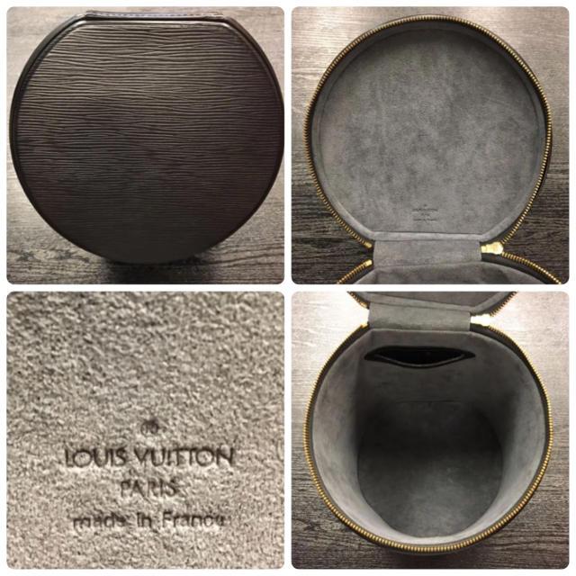 LOUIS VUITTON(ルイヴィトン)の美品¥11万品★ルイヴィトン★M48032 エピ カンヌ/バニティ ブラック レディースのファッション小物(ポーチ)の商品写真