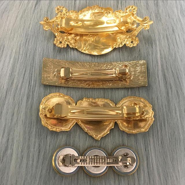 Lochie(ロキエ)のヴィンテージ バレッタ各種 レディースのヘアアクセサリー(バレッタ/ヘアクリップ)の商品写真