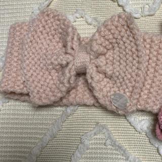 プティマイン(petit main)のプティマイン♡ヘアバンド&靴下(帽子)