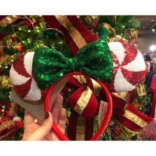 Disney - 《数量限定で再入荷!》大人気!即購入OK新品 クリスマスキャンディカチューシャ