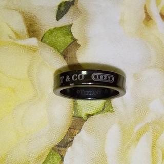 ティファニー(Tiffany & Co.)の【本日お値下げ】ティファニー 1837 ナローリング  指輪7.5号(リング(指輪))