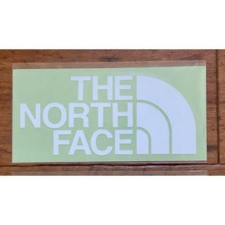 ザノースフェイス(THE NORTH FACE)のノースフェイス カッティングステッカー ホワイト(その他)