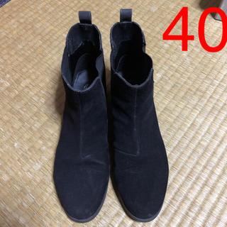 エイチアンドエイチ(H&H)のショートブーツ40(ブーツ)