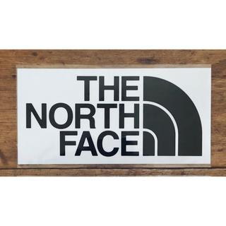 ザノースフェイス(THE NORTH FACE)のノースフェイス カッティングステッカー ブラック(その他)