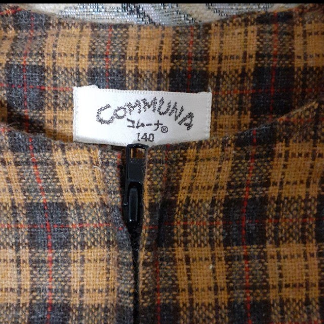 COMMUNA ジャンパースカート キッズ/ベビー/マタニティのキッズ服女の子用(90cm~)(ワンピース)の商品写真