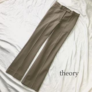 セオリー(theory)のセオリー パンツ モカベージュ M(カジュアルパンツ)