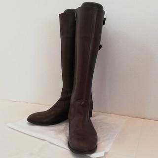 ダイアナ(DIANA)の使用1回!DIANA 本革ロングブーツ 25.0cm(ブーツ)