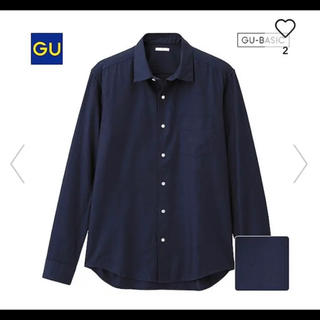 GU - ピンオックスフォードシャツ
