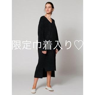 gelato pique - 【Joel Robuchon 】 'カシミヤMIXスムーズィー'ドレス
