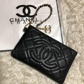 CHANEL - 新品 CHANEL シャネル ノベルティバッグ チェーン クラッチバッグ