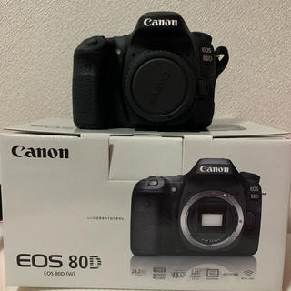 Canon - canon 80D ボディ