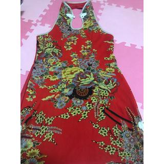 ミニチャイナドレス