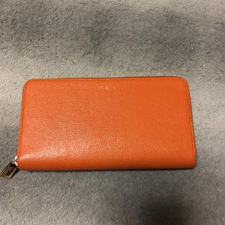 フルラ(Furla)のオレンジ長財布(長財布)