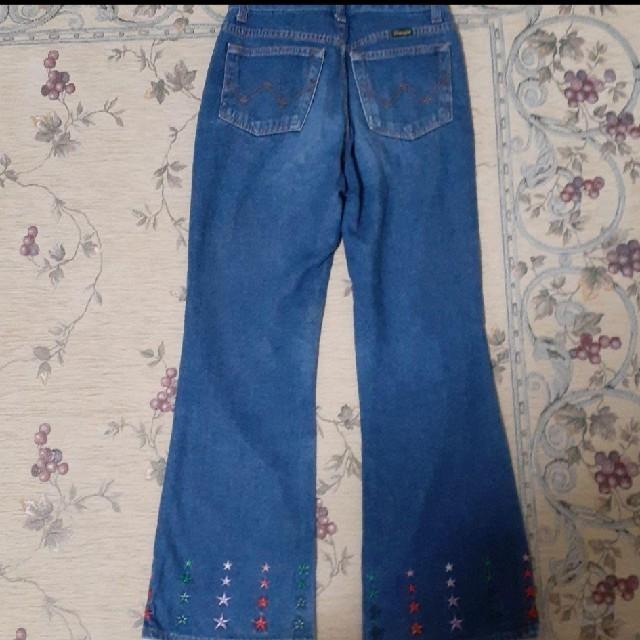 Wrangler(ラングラー)のWranglerお星さまのジーンズ キッズ/ベビー/マタニティのキッズ服女の子用(90cm~)(パンツ/スパッツ)の商品写真