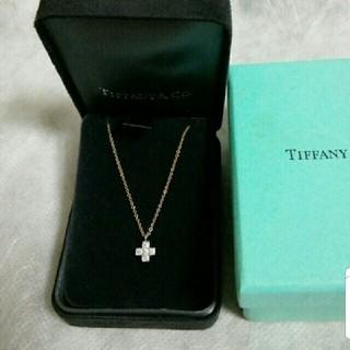 Tiffany & Co. - ティファニー クルーシーフォーム ダイヤ ネックレス