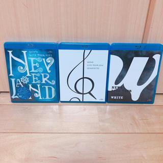 NEWS - NEWS LIVE TOUR 2015 WHITE Blu-ray 他2本