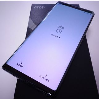 SAMSUNG - 新品◇Simフリー Galaxy Note9 SCV40 Black◇