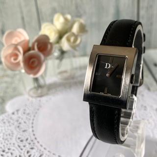 クリスチャンディオール(Christian Dior)の【電池交換済み】Christian Dior ディオール 腕時計 D78-100(腕時計)