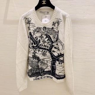 クリスチャンディオール(Christian Dior)のディオール メンズ レディース ニット シャツ(ニット/セーター)