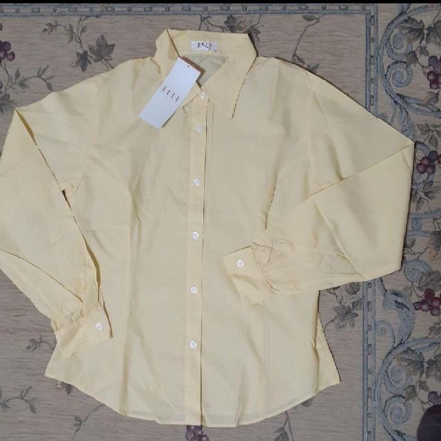 ELLE(エル)のELLE レモン色のカッター キッズ/ベビー/マタニティのキッズ服女の子用(90cm~)(Tシャツ/カットソー)の商品写真