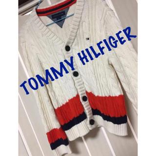 トミーヒルフィガー(TOMMY HILFIGER)のトミー♡ニットカーディガン♡4T♡(カーディガン)
