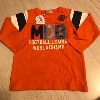 ミキハウス(mikihouse)のミキハウス DOUBLE.B ロングTシャツ 90 新品(Tシャツ/カットソー)