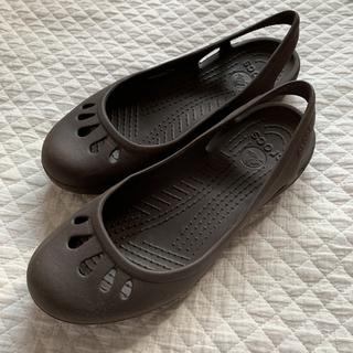crocs - 【再掲】クロックス マリンディ 24cm 中古です