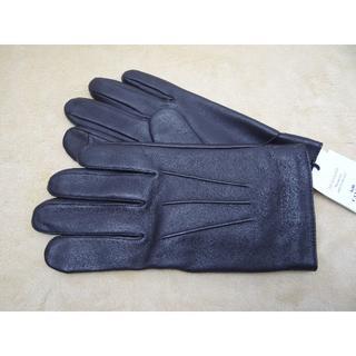 コーチ(COACH)のCOACH コーチ メンズ レザー グローブ Lサイズ F54182 MAH(手袋)