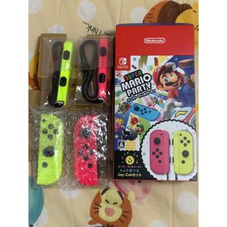 Nintendo Switch - ジョイコン ネオンピンク ネオンイエロー
