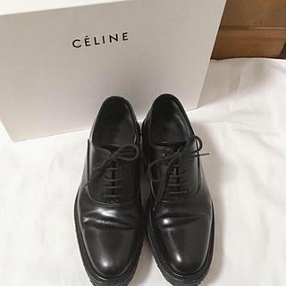 セリーヌ(celine)のceline セリーヌ レースアップ ラバーソール シューズ(ローファー/革靴)