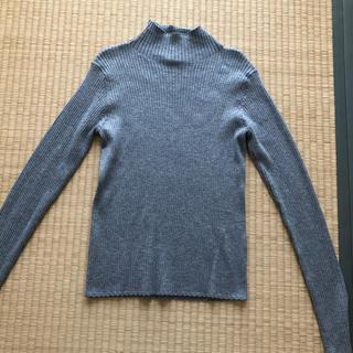 ユニクロ(UNIQLO)のユニクロタートルニットSサイズ(ニット/セーター)