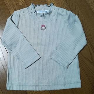 familiar - ファミリア ハイネック長袖Tシャツ 80