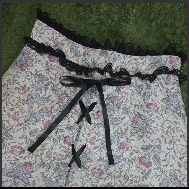 Ank Rouge(アンクルージュ)の本日sale! 早い者勝ち! Ank Rouge☆アンティークスカート レディースのスカート(ミニスカート)の商品写真