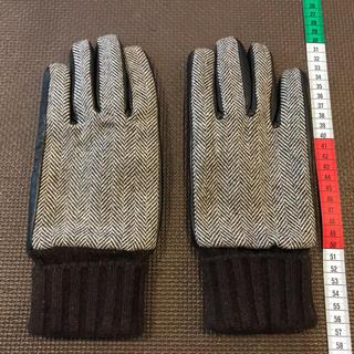 ユナイテッドアローズ(UNITED ARROWS)のユナイテッドアローズUA手袋/グローブ 茶・ブラウン(手袋)